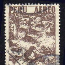 Sellos: AMÉRICA. PERÚ. SÍMBOLOS NACIONALES. CORMORÁN. YTPA105. USADO SIN CHARNELA. Lote 255477430