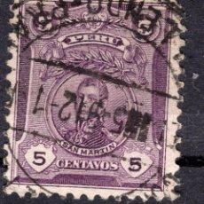 Selos: PERU , 1909 MICHEL 138A. Lote 264044520