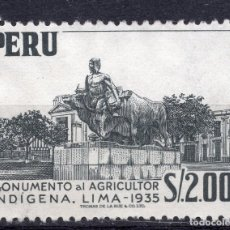Sellos: PERU , 1957, MICHEL 531. Lote 264048085