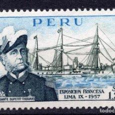 Sellos: PERU , 1957, MICHEL 553. Lote 264048175
