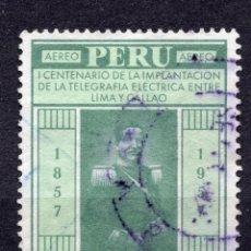 Sellos: PERU , 1958, MICHEL 566. Lote 264048435