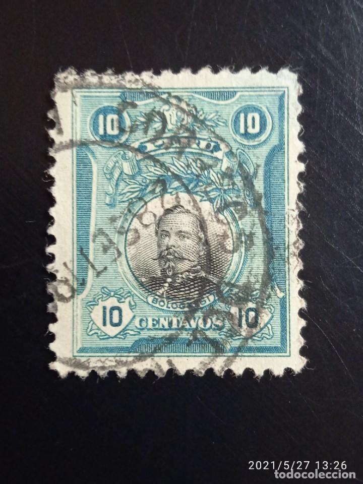 PERU 10 CTS BOLOGNESI AÑO 1918.. (Sellos - Extranjero - América - Perú)