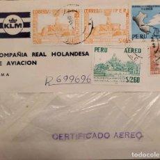 Sellos: O) 1967 PERÚ, ASTRONOMÍA, OBSERVATORIO SOLAR INCA, PALETA DE VIENTO Y SOL, ENERGÍA, APERTURA HIDROEL. Lote 274608323