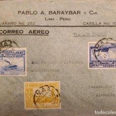 Sellos: O) 1937 PERÚ, CORREO VAPOR INCA EN LAGO TITICACA, UNIVERSIDAD SAN MARCOS, WATERLOW E HIJOS, CORREO A. Lote 274614948