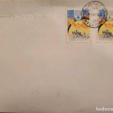 Sellos: O) 1960 PERÚ, AÑO MUNDIAL DEL REFUGIADO, WRY DOVE RAINBOW Y GRANJERO, FDC XF. Lote 274649143