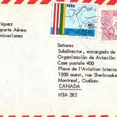 Sellos: CORREO AEREO: PERU. Lote 277064183