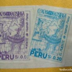 Sellos: PERU. Lote 277082663