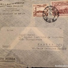 Sellos: O) 1938 PERÚ, MINAS DEL PERÚ, WATERLOW E HIJOS, GOBIERNO RESTAURANTE EN EL CALLAO, MAX HELLER, CORRE. Lote 277541693