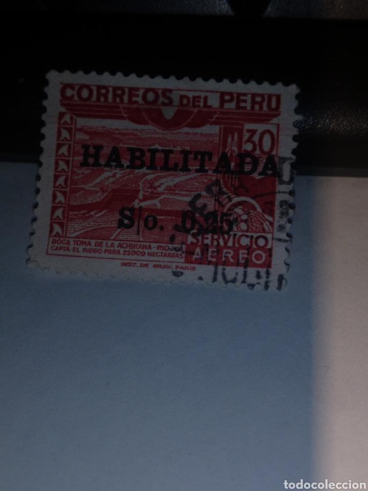 SELLO PERÚ (Sellos - Extranjero - América - Perú)