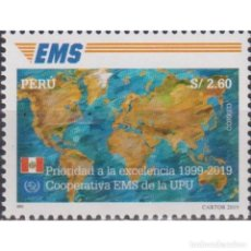Sellos: PE2878 PERU 2020 MNH 20TH ANNIVERSARY OF THE EXPRESS MAIL SERVICE. Lote 287537863