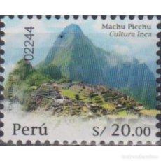 Sellos: PE2874 PERU 2020 MNH HISTORY OF PERU - INCA CULTURE CITADEL OF MACHU PICCHU. Lote 287538038