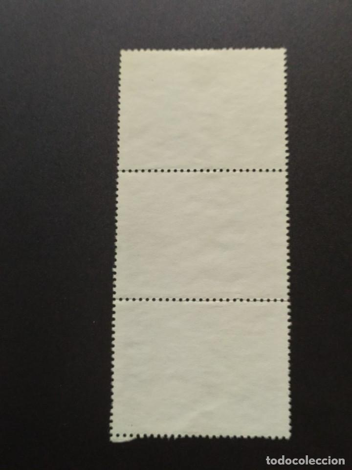 Sellos: ## Perú usado 1985 XIV jornadas iberoamericanas bloque de 3 sellos## - Foto 2 - 288338248