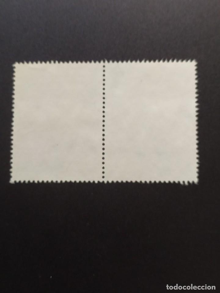 Sellos: ## Perú usado 1985 Convento San Francisco bloque de 2 sellos## - Foto 2 - 288338493