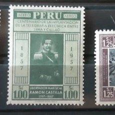 Sellos: PERU,1958,CAT.YT.PA.135/137.. Lote 288936718