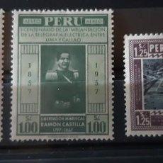 Sellos: PERU,1958,CAT.YT.PA.135/137.. Lote 288936928