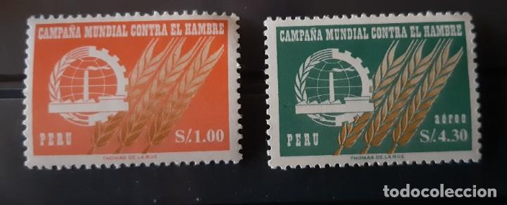 PERU,1963.CAT.YT. 464 Y PA. 189. (Sellos - Extranjero - América - Perú)