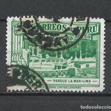 Sellos: PERU SELLO USADO - 15/40. Lote 289644833