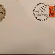 Sellos: O) 1973 AIR FORCE ACADEMY, HONORES JORGE CHAVEZ, AVIADOR PERUANO, FDC XF. Lote 289995348