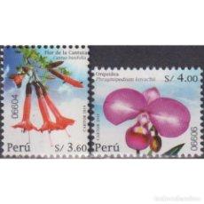 Sellos: PE2871 PERU 2020 MNH FLOWERS OF PERU. Lote 293411743