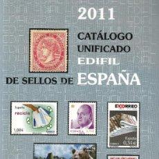 Timbres: CATALOGO EDIFIL 2011 NORMAL NUEVO A ESTRENAR PINZAS DE REGALO. Lote 21323688