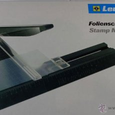 Sellos: GUILLOTINA LEUCHTTURM 180 . GRAN FORMATO . ALTA PRECISION . HASTA 180 MM. CORTE DE PRECISION. Lote 70313642