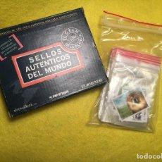 Sellos: COLECCION -SELLOS AUTENTICOS DEL MUNDO (123 SELLOS) AFINSA EL MUNDO. Lote 110571763
