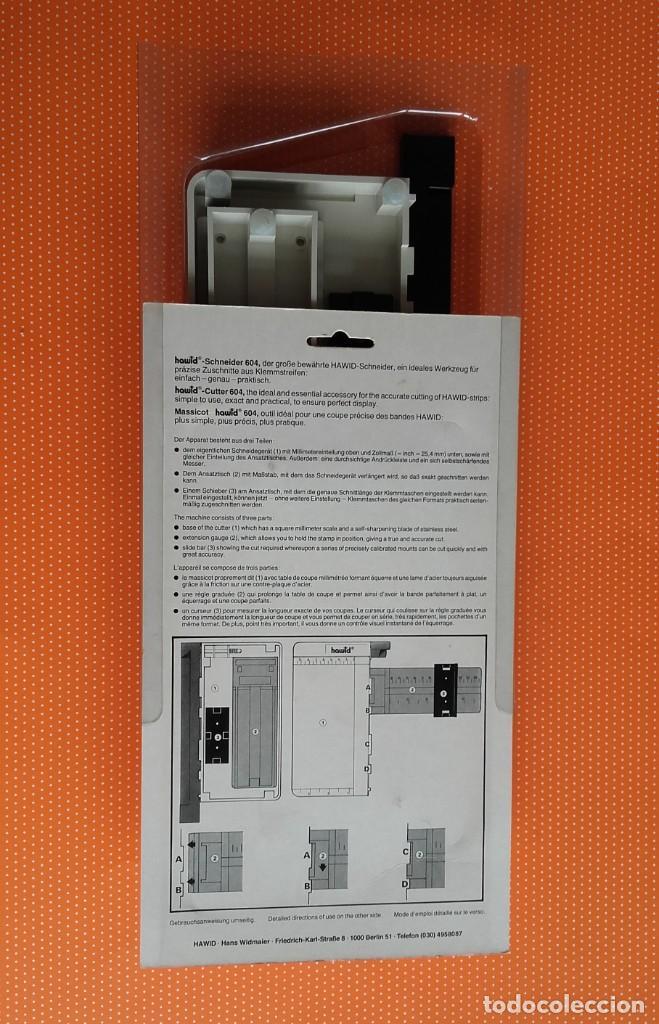 Sellos: GUILLOTINA HAWID 604 SCHNEIDER CUTTER MASSICOT. - Foto 6 - 239849660