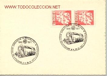 POLONIA 1971 FERROCARRIL RAILWAY (Sellos - Extranjero - Europa - Polonia)