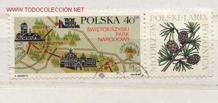 PARQUE NACIONAL NATURAL (Sellos - Extranjero - Europa - Polonia)