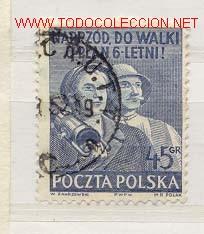 POLONIA 1950. DÍA INTERNACIONAL DE ACCIÓN PARA LA PAZ MUNDIAL (Sellos - Extranjero - Europa - Polonia)