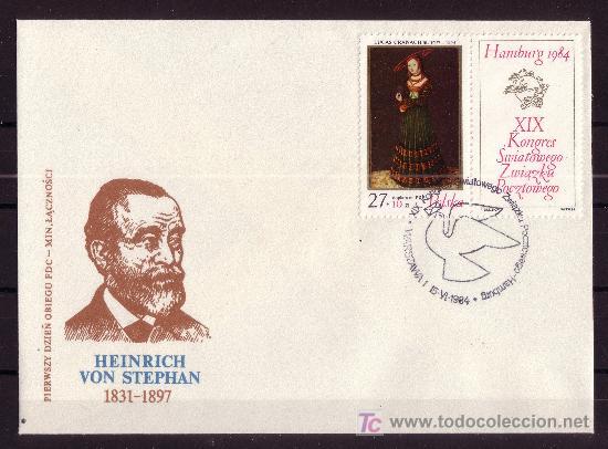 POLONIA SPD 2732*** - AÑO 1984 - OBRA DE LUCAS CRANACH - 1472 - 1553 (Sellos - Extranjero - Europa - Polonia)