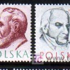 Sellos: POLONIA 1957. DOCTORES. Lote 4703686