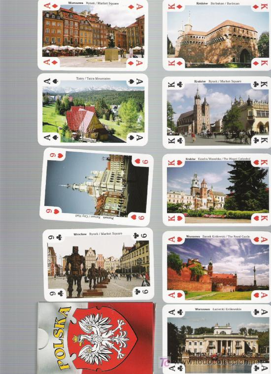 POLONIA PRECIOSA BARAJA DE COLECCION (Sellos - Extranjero - Europa - Polonia)