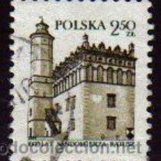 Sellos: POLONIA 1980 SCOTT 2403 SELLO CASTILLOS MILENIUM SANDOMIERZ USADO MICHEL 2705 POLSKA POLAND POLEN PO. Lote 8511020