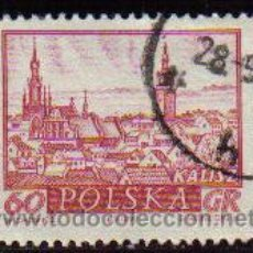 Sellos: POLONIA 1960 SCOTT 952 SELLO CIUDADES HISTORICAS KALISZ USADO POLSKA POLAND POLEN POLOGNE . Lote 8515665