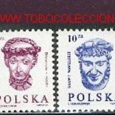 Sellos: POLONIA 1985. BÁSICOS: PERSONAJES. Lote 1978779