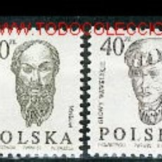 Sellos: POLONIA 1986. BÁSICOS: PERSONAJES. Lote 1978910