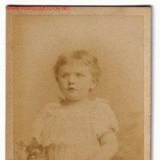Sellos: FOTOGRAFIA ALBUMINA DE NIÑO S.XIX - H.PFEIFFER. Lote 27067061
