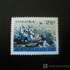 Timbres: POLONIA 1971 IVERT 1969 * APOLLO XV - CONQUISTA DEL ESPACIO. Lote 184826860