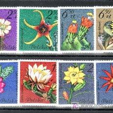 Sellos: POLONIA 2599/606 SIN CHARNELA, FLORES DE CACTUS,. Lote 18395850