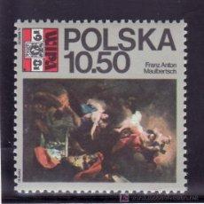 Sellos: POLONIA 2552 SIN CHARNELA, PINTURA, WIPA 1981, EXPOSICION FILATELICA EN VIENA, . Lote 14104726