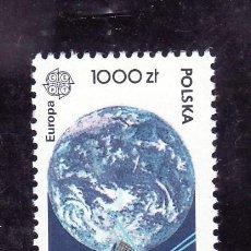 Sellos: POLONIA 3126 SIN CHARNELA, TEMA EUROPA, EUROPA Y EL ESPACIO, . Lote 18239220