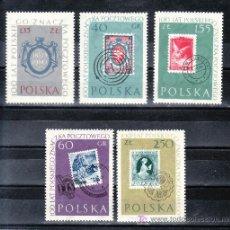 Sellos: POLONIA 1026/30 SIN CHARNELA, CENTENARIO DEL SELLO. Lote 19107654