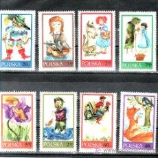 Sellos: POLONIA 1678/85 SIN CHARNELA, FABULAS, CUENTOS, . Lote 20373111