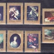 Sellos: POLONIA 1660/7 SIN CHARNELA, PINTURA EUROPEA DE LOS MUSEOS NACIONALES, . Lote 20373112