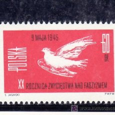 Sellos: POLONIA 1436 SIN CHARNELA, 20º ANIVERSARIO DE LA PAZ, . Lote 19065535