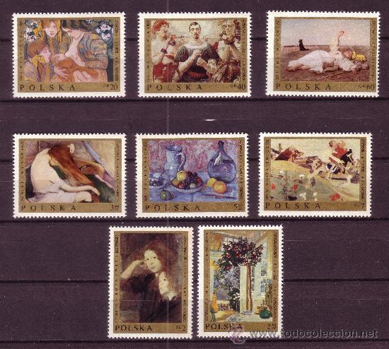 POLONIA 1791/98* - AÑO 1969 - ARTE - OBRAS DE PINTORES POLACOS (Sellos - Extranjero - Europa - Polonia)
