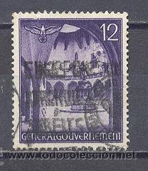 POLONIA -1941- GENERAL GOUVERNEMENT,OCUPACION ALEMANA (Sellos - Extranjero - Europa - Polonia)