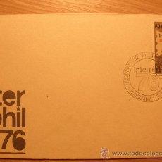 Sellos: 2 SOBRES Y 1 TARJETA INTERPHIL 76 POLONIA (FILADELFIA USA) CCCP 1966. Lote 22550898