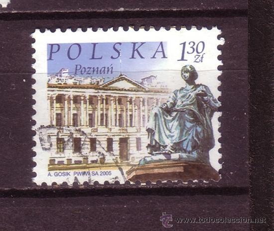 POLONIA 3916 - AÑO 2005 - CIUDADES POLACAS -POZNAN (Sellos - Extranjero - Europa - Polonia)